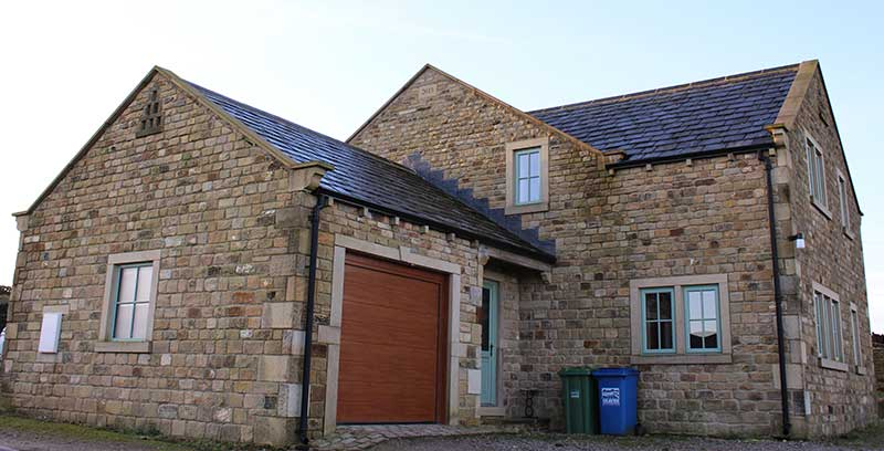 Dales developments ltd building contractor for new for Build a stone house